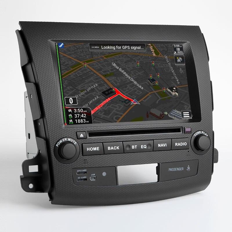 OTOJETA Android 9.1 Car HU  DVD For Mitsubishi Outlander 2008-2014 Peugeot 4007 Citroen C-Crosser Touch Screen Car Multimedia