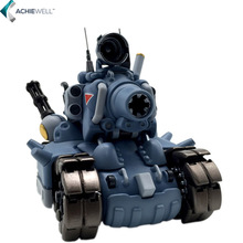 Video Computer Game Metal Slug Tank Model Action Figure With Weapons Mini Cute Collection Assemble Toys Kid Adult Gift Dolls