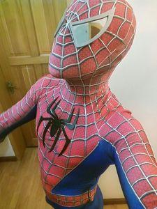 Костюм Железного Человека-паука 2018, костюм Человека-паука 3D, Spand Toby Amazing, костюм Человека-паука для взрослых, 3D костюм Zentai из спандекса