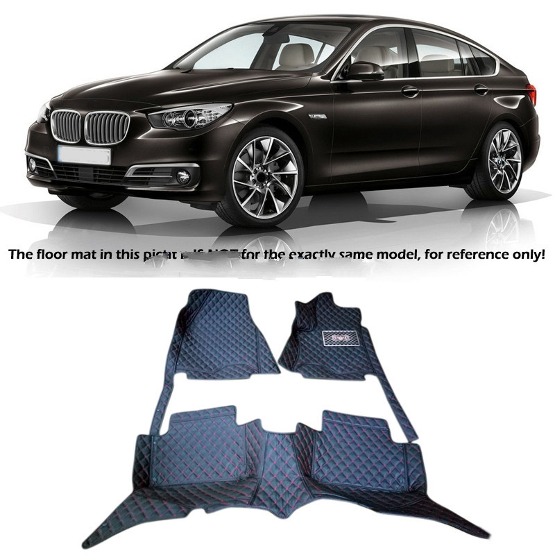 left right hand drive For BMW 5 Series Grand Touring F07 2010 11 12 2013 14 2015 PU Leather Carpets Car Floor Foot Mat pad cover new 2pcs female right left vivid foot mannequin jewerly display model art sketch
