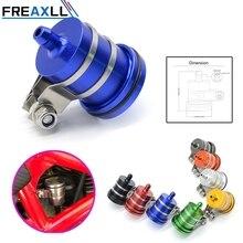 цена на FREAXLL high quailty Motorcycle Brake Fluid Reservoir Clutch Tank Oil Fluid Cup For Yamaha MT09 MT-09 FZ09 FZ-09 MT 09