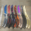 New In 2016 CS GO Counter Strike Claw Karambit Knife Game Folding Knife Butterfly Game Knife