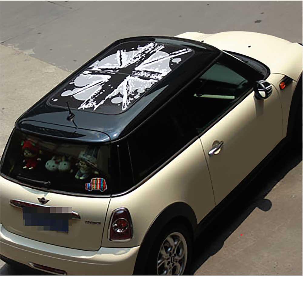 купить внешние аксессуары Mini Style Sun Roof Graphics Stickers