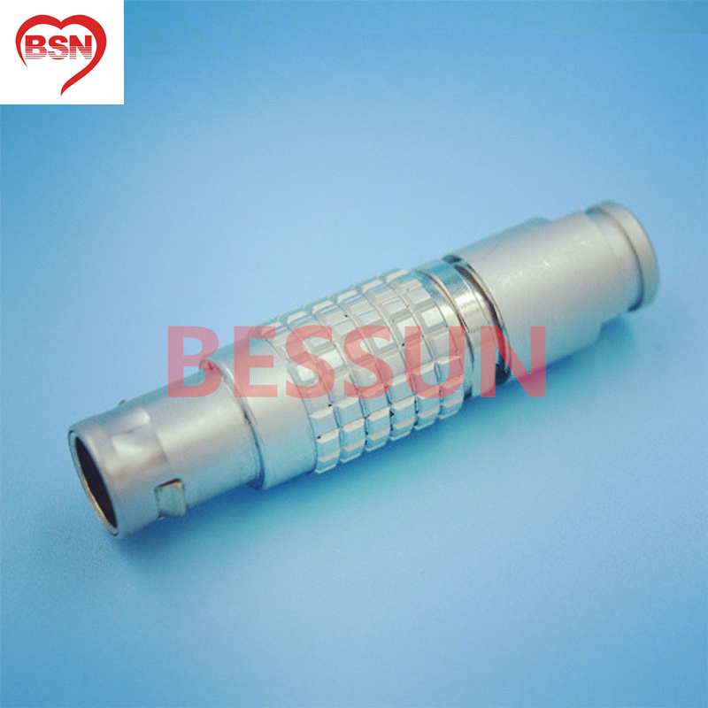 Medical <font><b>connector</b></font> plug, Camera power <font><b>connector</b></font> plug,<font><b>LEMO</b></font> 0b <font><b>2</b></font> <font><b>pin</b></font> <font><b>connector</b></font> plug, FGG.0B.302.CLAD, image