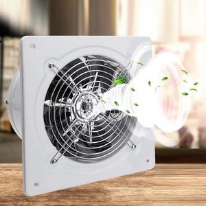 Image 5 - HEIßER! 4 Inch 20W 220V Hohe Geschwindigkeit Auspuff Fan Wc Küche Bad Hängen Wand Fenster Glas Kleine Ventilator Extractor abschliessend