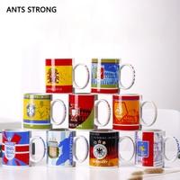 ANTS STRONG soccer fans memorial ceramic mark mug/football national team badge water cup memorial cup bar beer cups gift