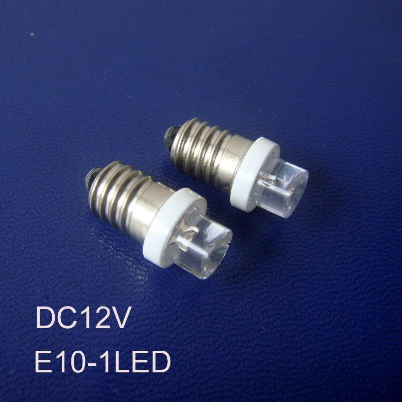 ᐊalta qualidade 12vdc e10 luzes led, e10 lâmpadas led, 12 v e10 led