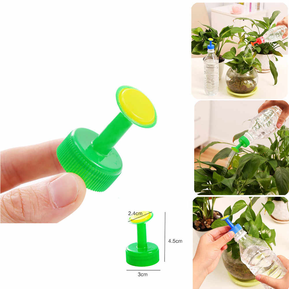 2PC Bottle Sprayer Flower Watering Garden Tool Spray Nozzle Plant Pulverizador Sprinkler Water Seed Seedlings Irrigation Systerm