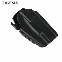 TB FMA Tactical Pistol Holster Right Hand 579 Gls Pro Fit Glock 1911 Holsters Fit 100 More Gun Type and Fits Up To 2.25'' Belt