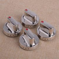 4pcs Metal Heavy Duty Cooktop Oven Stove Knob Switch Rotary Replacement Cooking Fit For Samsung Range DG64 00347A DG64 00347B