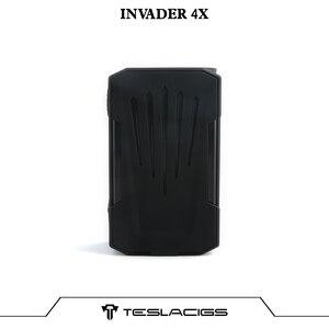 Image 4 - Originele Tesla Invader 4X Doos Mod Vape Voor Invader 4X Kit Verstelbare Voltage Elektronische Sigaret Vape Mod Vs Voopoo Slepen 2