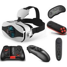 Gafas-Eyelasses VR VR 3D Caso Headset Googles óculos de Realidade Virtual para O Iphone X 8 Lenove LG Filme Visualizador Virtual Imax Óculos 3D Lente