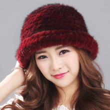Зимние шапки 2017, женская обувь реального норки шапка меховой головной убор теплые шапочки модные женские Cap шапки головные уборы