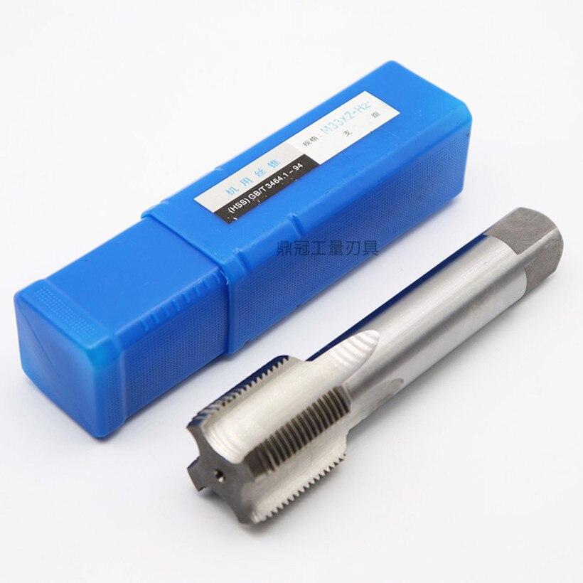 Image 2 - M24 M25 M26 M27 M28 M29 зубы = 1,0 1,5 2,0 3,0 мм HSS M2 машина обработки: сталь Бесплатная доставка-in Метчик с резьбой from Инструменты