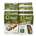 Free Shipping 75 Pcs/3Boxes 1.9cmX7.6cm Breathable Camo Adhesive Bandages Emergency kit Hemostasis Band aid For Outdoor Travel