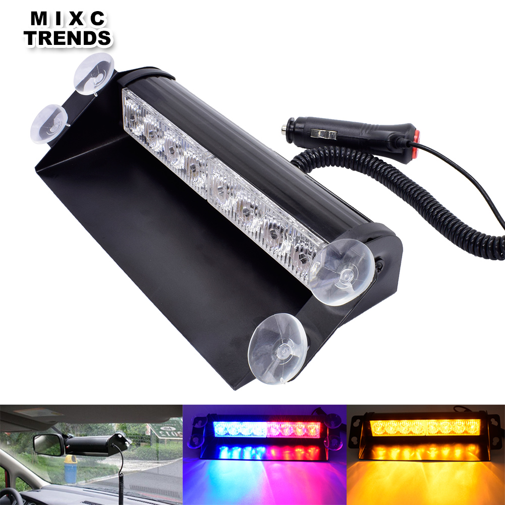 Car Tax Disc Holders Back To Search Resultsautomobiles & Motorcycles Well-Educated 12v 24v 4 Led Strobe Warning Light Strobe Grille Flashing Lightbar Truck Car Beacon Lamp Amber Yellow White Traffic Light Great Varieties