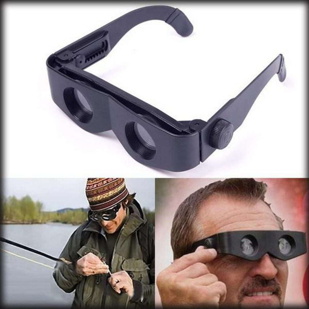 Portable Glasses Style Telescope Magnifier Binoculars For Fishing Hiking Concert Sport Supply Binoculars Fishing Telescope 1