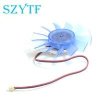 SZYTF grafikkarte fanNew 9600 GTS250 grafikkarte fan Ball 75mm durchmesser 12 V RA CPS-8015B12