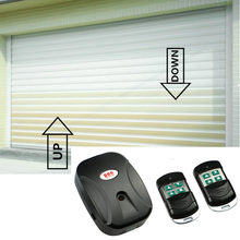 Universele Garagedeur Afstandsbediening 433 Mhz Draadloze Smart Remote Controller Voor Gate Externe Keten Motor Voor Smart Home