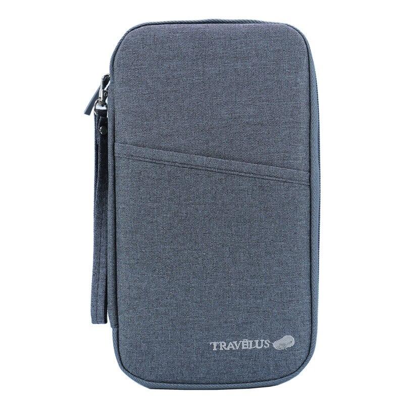 Card Holder Passport Cover Travel Journey Document Organizer Wallet Passport Ticket Credit Card Bag High Capacity Travel Wallets