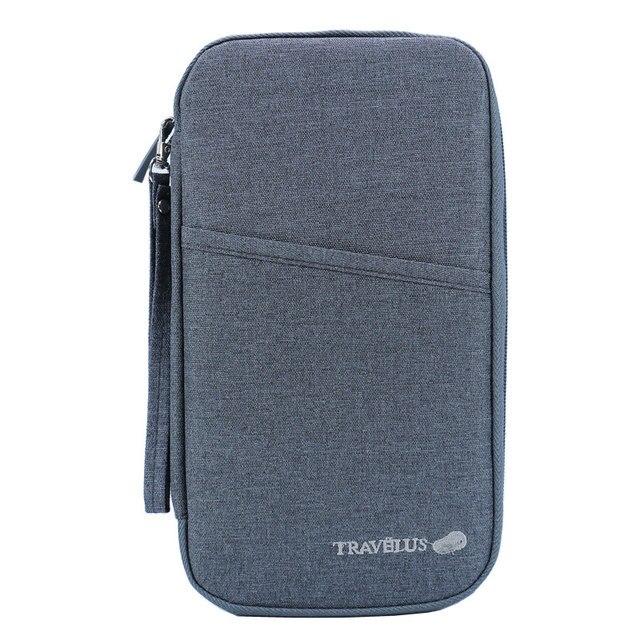 4effa90ff93 Travel Wallets Passport Cover Travel Journey Document Organizer Wallet  Passport Ticket Credit Card Bag High Capacity