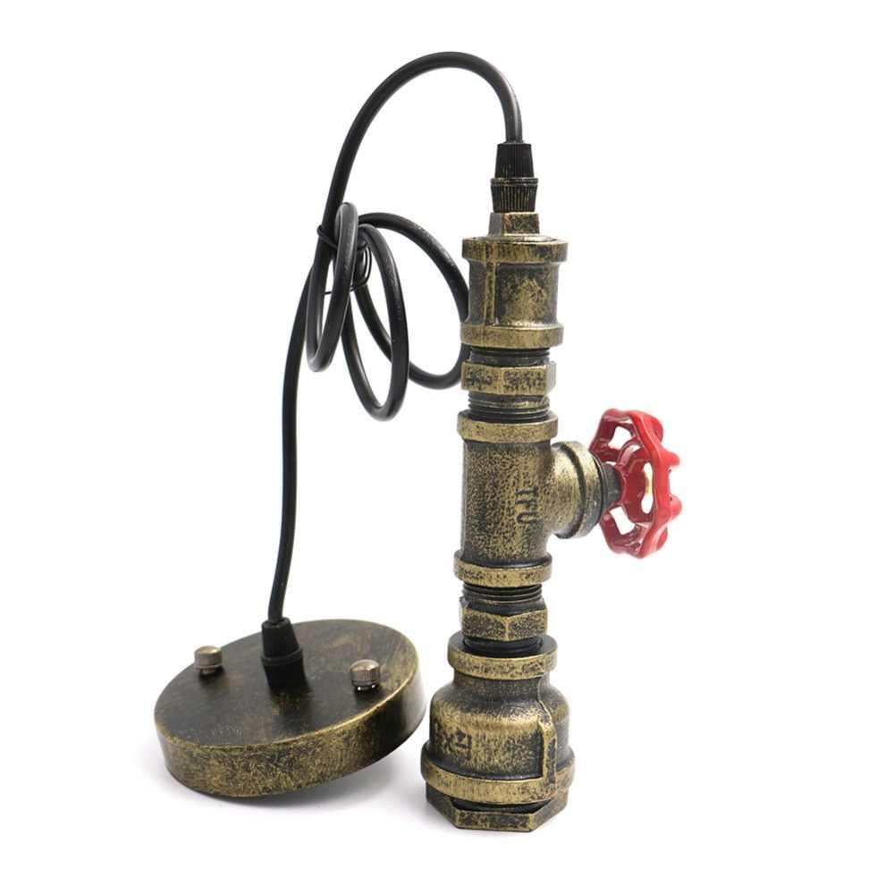 خمر الرجعية قلادة مصباح مخازن للأنبوب رئيس الحديد قلادة شريط مطعم غرفة الجلوس ضوء تركيبات