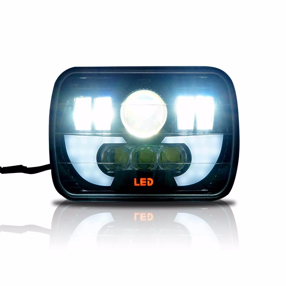 90W Front LED Headlights Sealed Hi/Low Beam For GMC Savana 1500 3500 2500 Safari Truck (1 pcs) s1000rr turn led lights