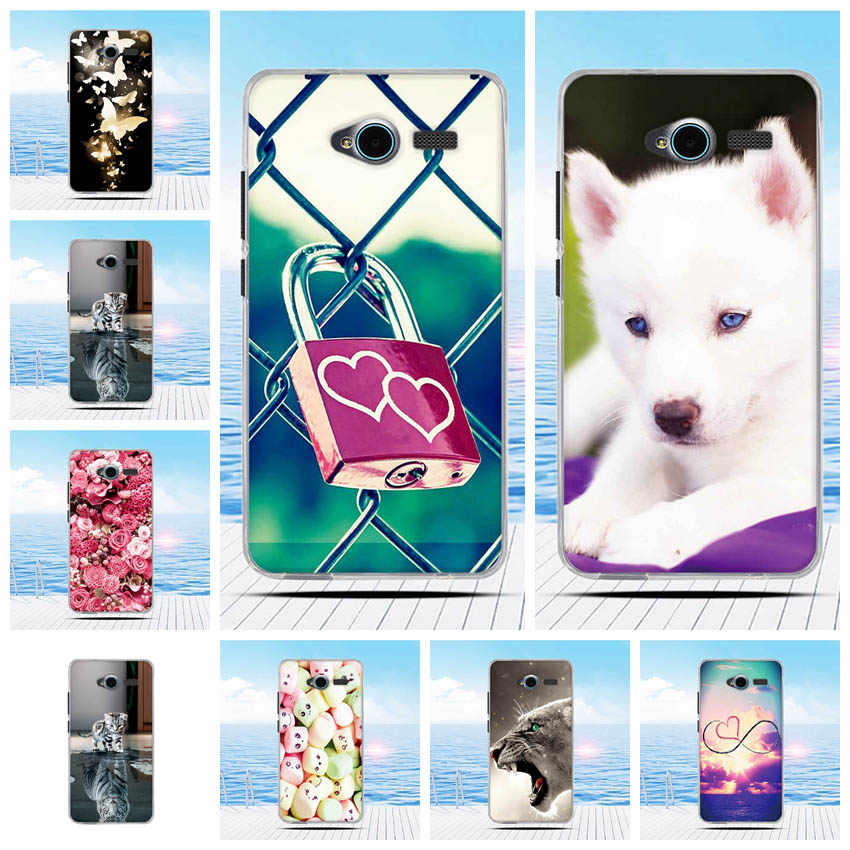 For ZTE Blade L3 Case Cartoon 3D Relief Printing Pattern Back Cover TPU Soft Silicone Case