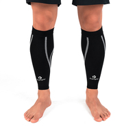 1 Pair Calf Compression Sleeves Knitted Fabric Leg Warmers Running Shin Guard Sports Calf Socks Support Pain Relief