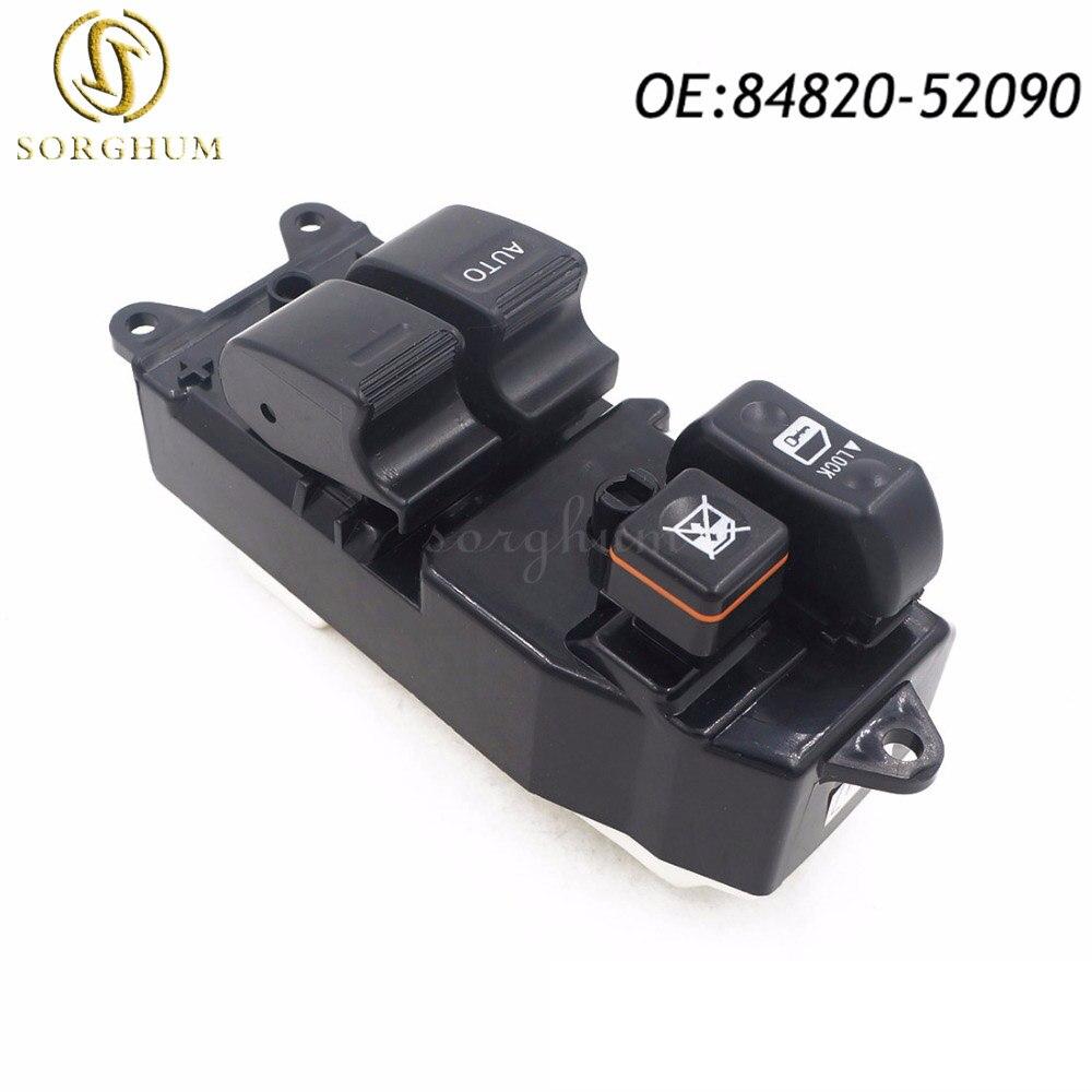 84820 52090 8482052090 Power Window Lifter Regulator Master Control Switch For Toyota Yaris Echo Verso