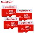 100% Original Gigastone Micro SD Card 64GB 32GB 16GB 8GB  Micro SD Class 10 Cartao de Memoria Carte SD Card TF Memory Card