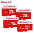 100% original gigastone tarjeta sd micro 64 gb 32 gb 16 gb 8 gb micro Carte SD Clase 10 cartao de Memoria SD Tarjeta de Memoria TF tarjeta