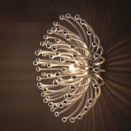 IWHD простой современный настенный светильник Творческий ABS светодиодный настенные светильники для прикроватный бра настенный домашние освещения Lamparas