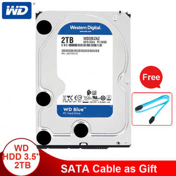 Western Digital 2TB 3.5\'\' WD Blue HDD Internal Hard Disk Drive Desktop 5400 RPM SATA 6Gb/s 64MB Cache Hard Drive For Computer PC - DISCOUNT ITEM  29% OFF Computer & Office