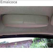 Emaicoca styling Dell'automobile di trasporto libero Occhiali Caso Box Storage Box Per Ford C-MAX S-MAX B-MAX Explorer RIVA EXPEDITION EVOS INIZIO(China)