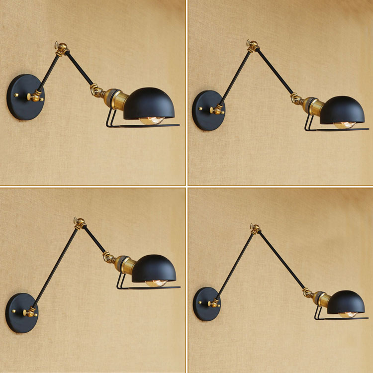 Vintage Loft Style Industrial Wall Lights For Home