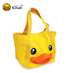 Yellow Women Back Pack 3D School Bags for Teenage Girls Canvas Woman Shoulder Bag Handbag Shopper Hand Bag Large Capacity Tote