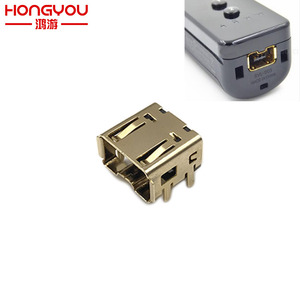 Image 1 - 20ชิ้นเปลี่ยนแจ็คซ็อกเก็ตD Ock Connectorพอร์ตสำหรับNintendo Wiiขวา/ซ้ายซ็อกเก็ตเชื่อมโยงควบคุม