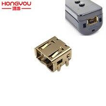 20 sztuk wymiana gniazdo typu jack złącze stacji dokującej Port dla Nintendo Wii prawo/lewo gniazdo Link kontroler
