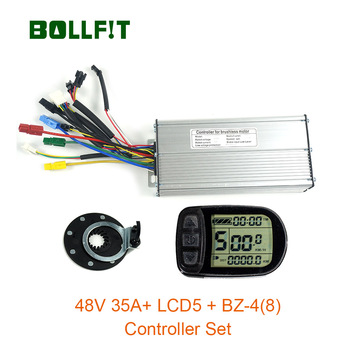 48V 35A Controller LCD5  Display Meter PAS Set E-bike Conversion Kit Hall Sensor
