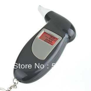 LCD Digital Alcohol Breath Tester Analyzer Breathalyzer CE FCC RoHS
