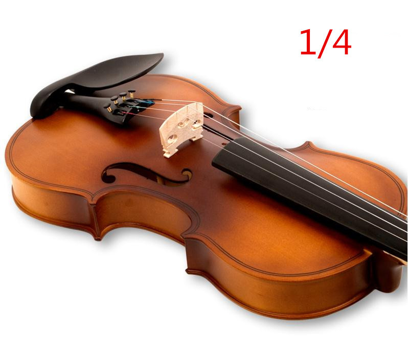 V132 High quality Fir violin 1/4 violin handcraft violino Musical Instruments Free shipping electric spruce violin 1 4 violin handcraft violino musical instruments with pickup violin rosin case violin bow