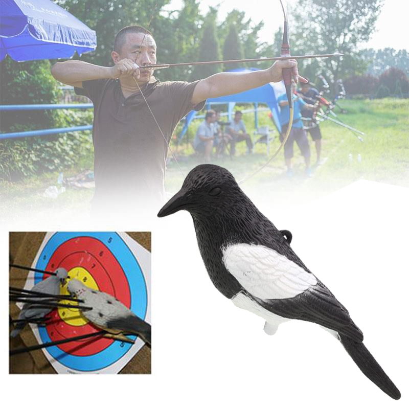 Full Body Arrow Target Magpie Shooting Decoy Smooth Surface Hunting Supplies Куртка