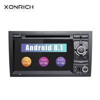 Car Multimedia DVD 2Din Android 8.1 Autoradio for Audi A4 B6 B7 S4 B7 B6 RS42002 2008 RS4 B7 SEAT Exeo 2008 2012 GPS Navigation