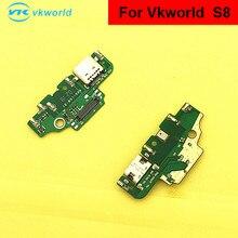 Для vkworld s8 Micro Dock коннектор зарядное устройство USB зарядный порт гибкий кабель запасные части