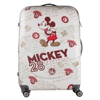 CARRYLOVE perfect Large capacity, Cartoon mouse 20/24/28 inch size PC Rolling Luggage Spinner brand Travel Suitcase