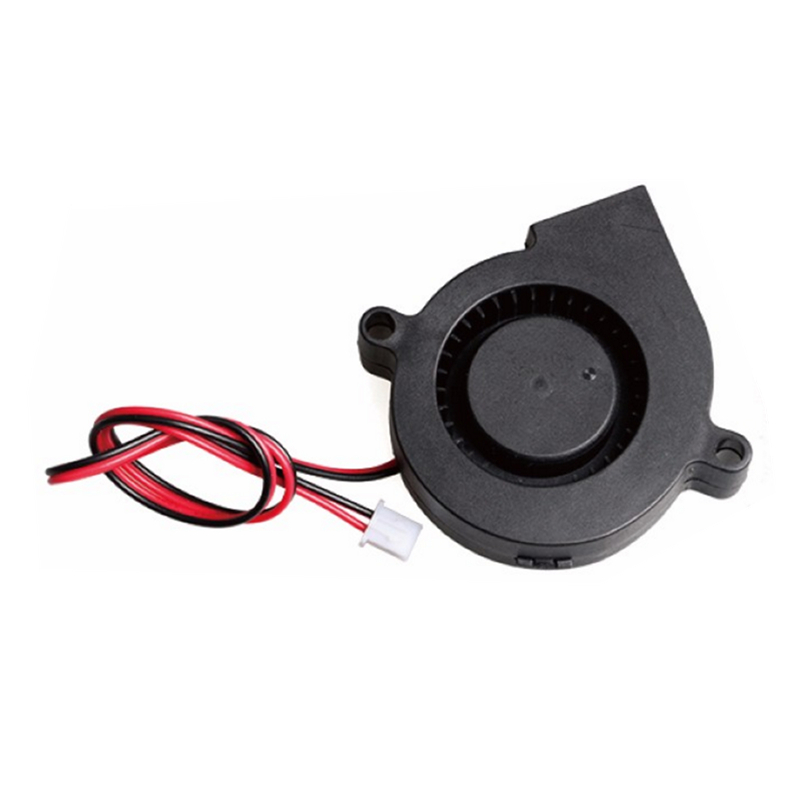 3D Printer Parts 5015 Turbo Blower Fan DC 12V 24V 50mmx50mmx15mm 5015 Cooling Fan for Anet A8 A6 цена