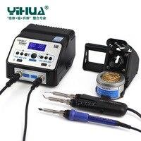 YIHUA 938D 938BD 110V 220V EU US PLUG Soldering Tweezer Repair Rework Station Electric Hot Tweezer