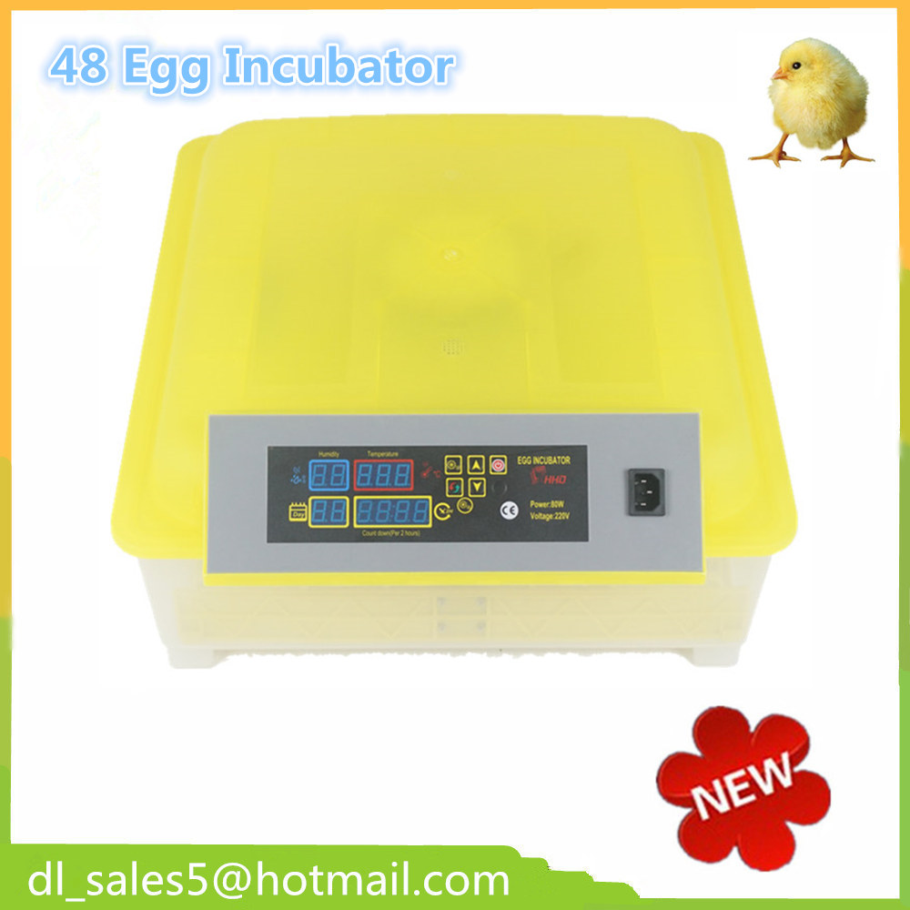 Fast ship from England 48 Mini Hatchery Egg Incubator Hatcher For Chicken Duck Bird  220V/110V   Small Brooder fast ship from england small egg incubator hatching machine automatic turning chicken egg incubator temperature