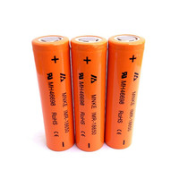 MNKE IMR-18650 IMR 18650 3.7V 3.6v 1500mAh Lithium ion li ion Rechargeable chargeable Battery Cell for power supply